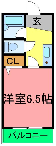 Y・M・Dチセ 208号室の間取り