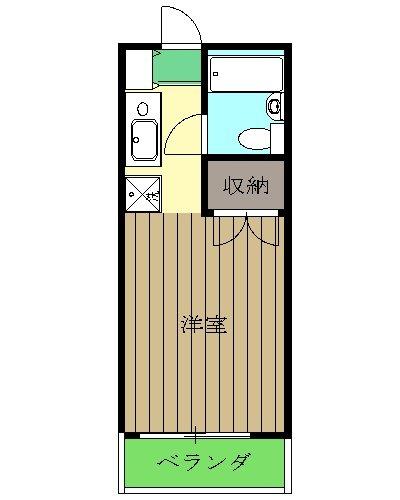 AIKAWAマンション・401号室の間取り
