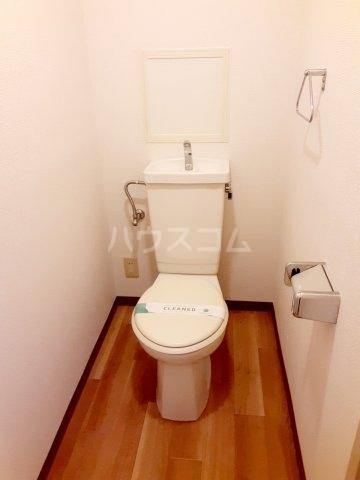 ハイツ東菅野 102号室のトイレ