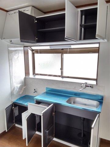 アビタシオン ヒデ 201号室のキッチン