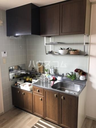 グレイス横吹 C207号室のキッチン