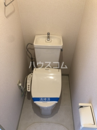 グレイス横吹 C207号室のトイレ