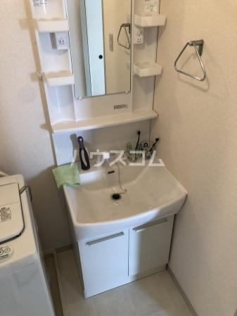 グレイス横吹 C207号室の洗面所