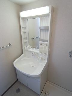 パルコート 301号室の洗面所
