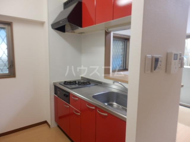 T・I-SQUARE 202号室のキッチン