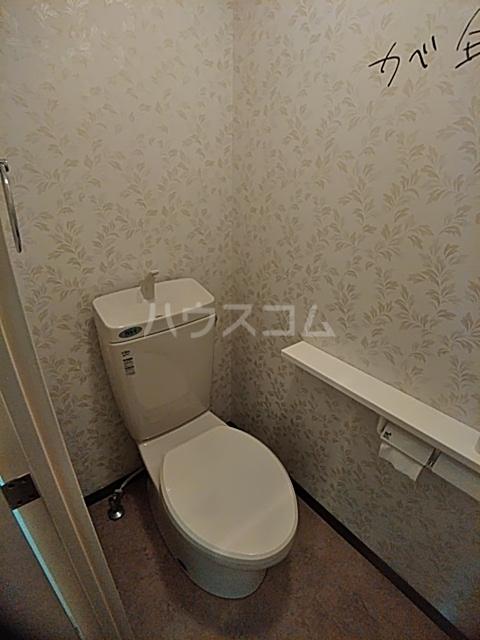 スリーエイト北町 110号室のトイレ