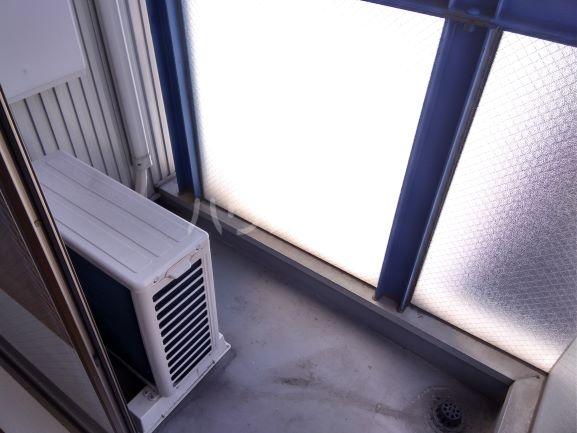セルティ鳴海 201号室のバルコニー