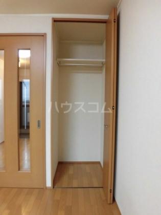 ハイム綾 201号室の収納