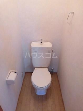 ハイム綾 201号室のトイレ