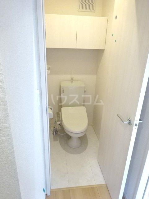 ハウオリ 201号室のトイレ