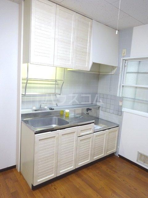 ライプニングコーポD 103号室のキッチン