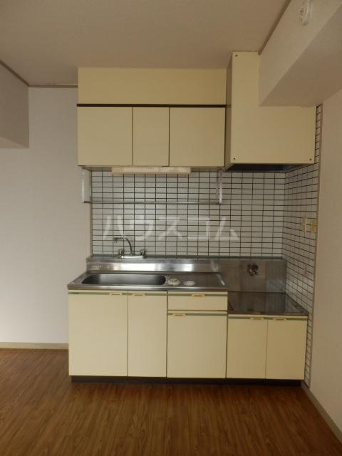 ラフォーレ鳴海 3C号室のキッチン