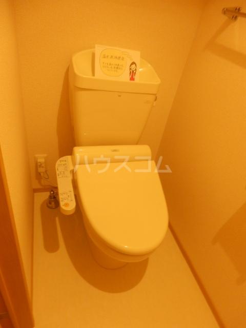 グレイス鶴が沢 A棟 202号室のトイレ