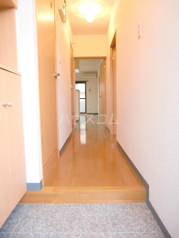 アンソレイユⅡ 103号室の玄関