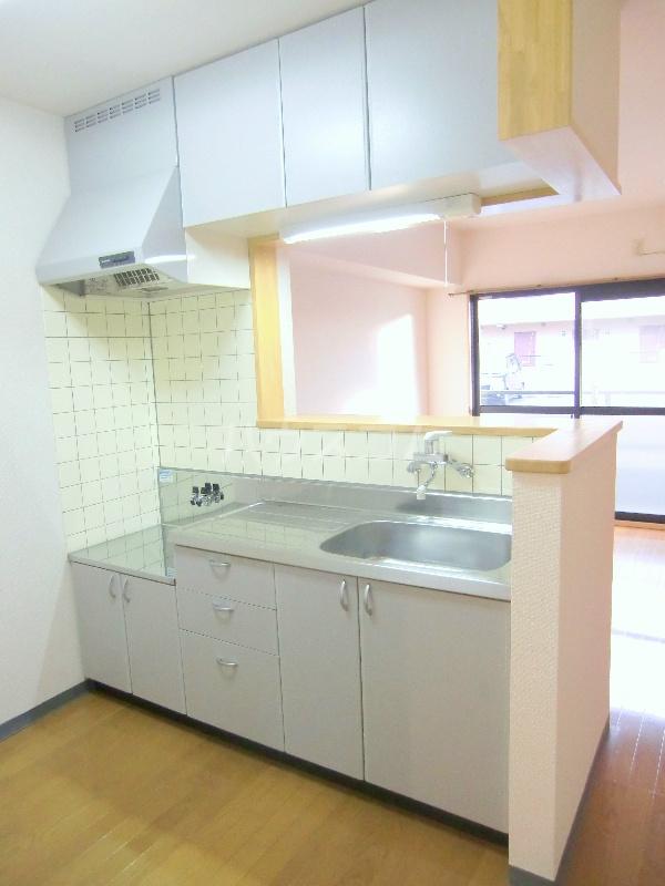 アンソレイユⅡ 103号室のキッチン