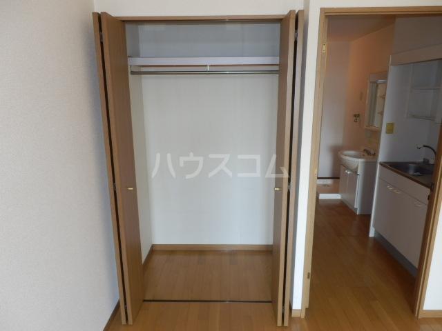 シャトー栗見坂Ⅱ 202号室の収納