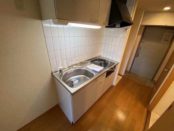 ノーブルスクエア 208号室のキッチン