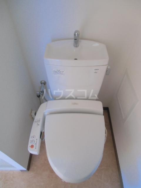 ユニファイ新瑞橋 8C号室のトイレ