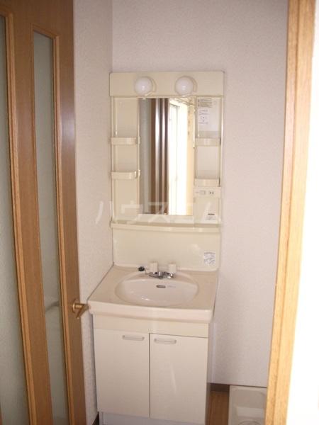 ヤカタハイツ 302号室の洗面所