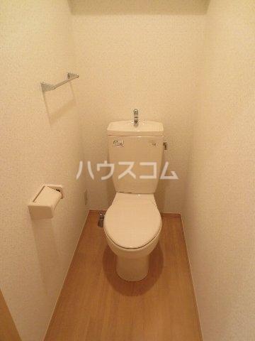 クレールN 101号室のトイレ
