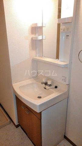 ディアハイツ 102号室の洗面所