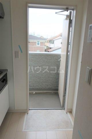 Garuda大同 205号室の玄関