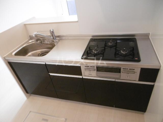ベルエキップ 102号室のキッチン