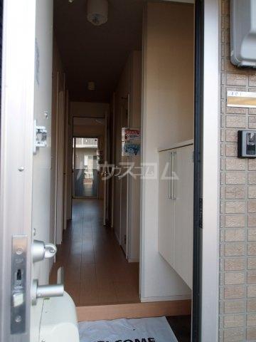 モダンコート藤 102号室の玄関