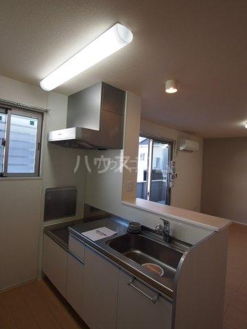 モダンコート藤 102号室のキッチン