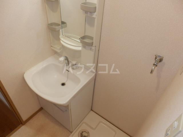 シャルモン・ナポールⅡ 205号室の洗面所