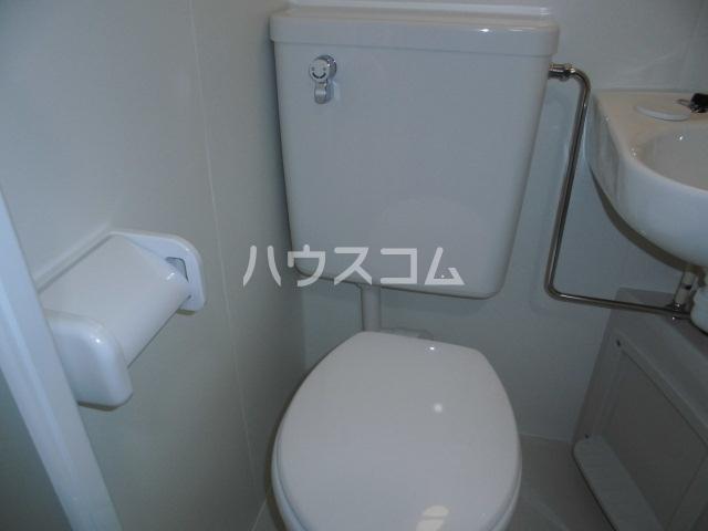レオパレス鳴海第5 202号室のトイレ