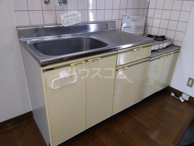 コーポどりーむⅡ F号室のキッチン