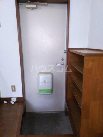 コーポどりーむⅡ F号室の玄関