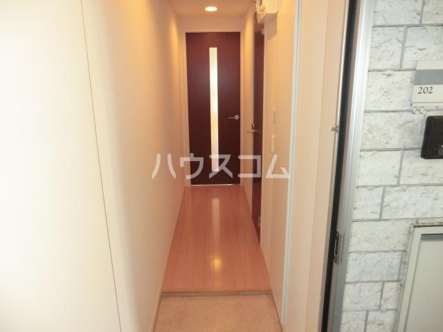 リブリ・オルタンシアⅢ 101号室の玄関