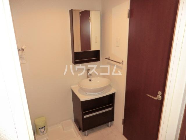 リブリ・オルタンシアⅢ 101号室の洗面所