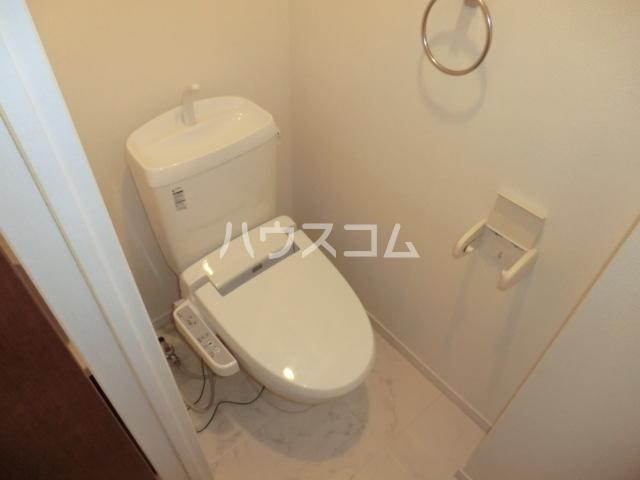 リブリ・オルタンシアⅢ 101号室のトイレ