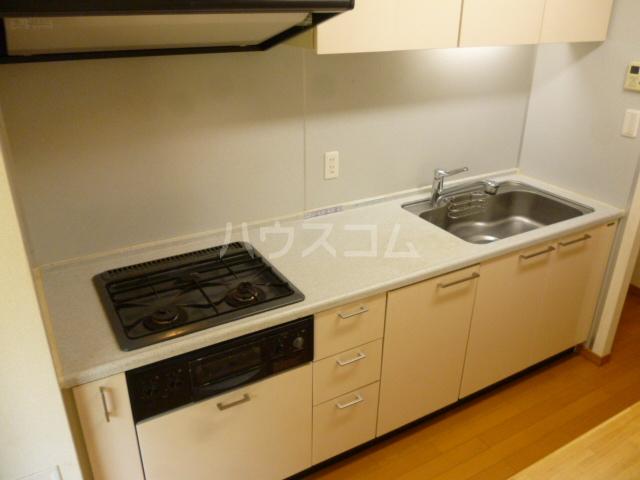 クイーンシティ松戸シーズンズガーデン 504号室のキッチン