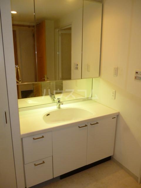 クイーンシティ松戸シーズンズガーデン 504号室の洗面所