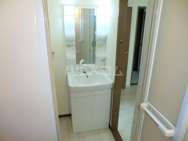ファミールコート 201号室の洗面所