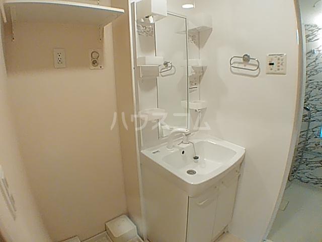 サンスマイル大和田WEST 201号室の洗面所