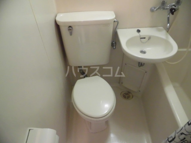 アドバンス国立 208号室のトイレ