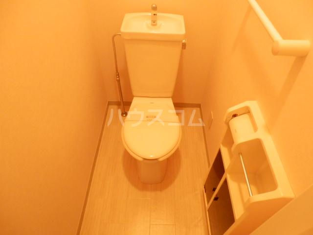 プランタニエール 206号室のトイレ