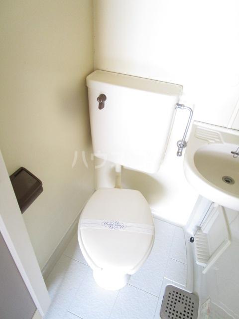 スカイハイツ東元町 202号室のトイレ