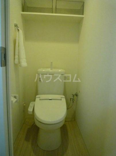 マストライフ日野 904号室のトイレ