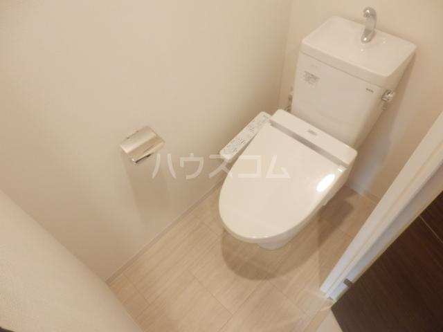 ベルヴュコート立川 405号室のトイレ
