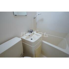 メゾネート5 201号室の洗面所