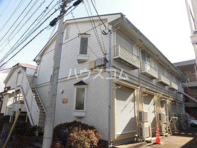 立川栄町フラットA棟の外観