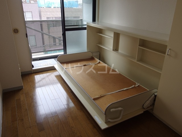 インディビレッジ 1002号室のベッドルーム