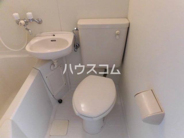 アーバンフォレスト 206号室のトイレ