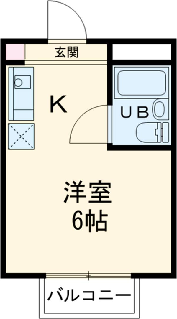 メゾン・ド・ノア錦町・303号室の間取り